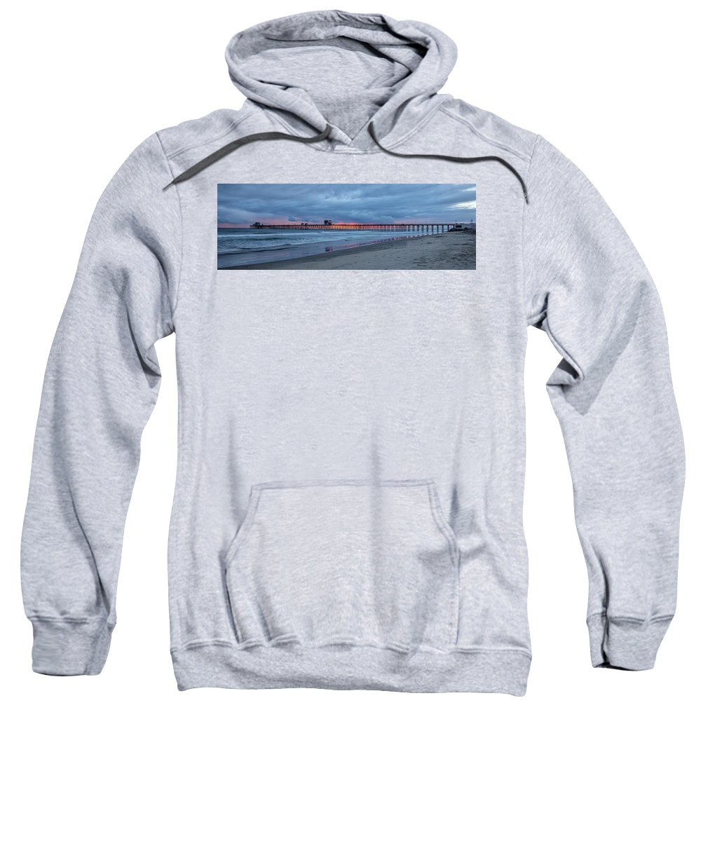 Beach Sweatshirt featuring the photograph Oceanside by Peter Tellone