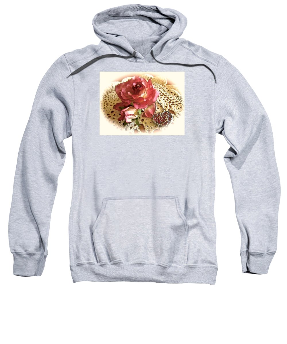 Sweatshirt featuring the photograph Ode On Dreams Departed by Elizabeth Tillar