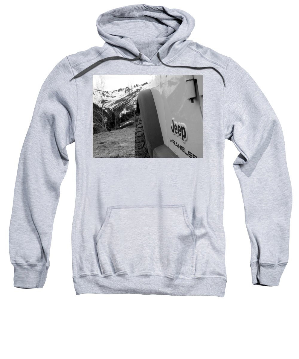 Jeep Sweatshirt featuring the photograph Off Roadin' 5 by Adam Vance