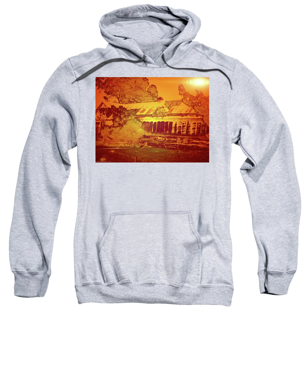 Ruins Sweatshirt featuring the photograph Old House by Douglas Barnard