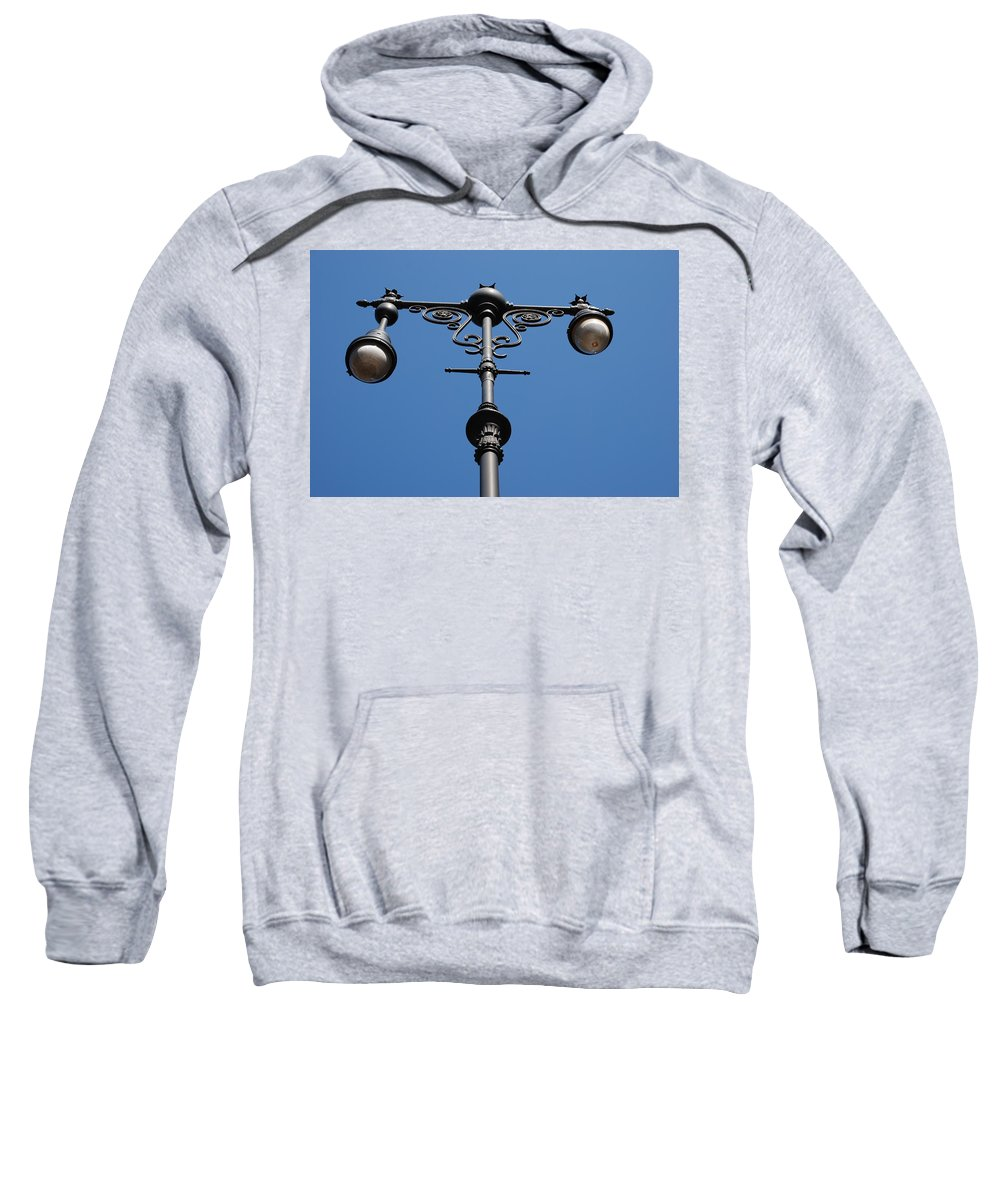 Lamppost Sweatshirt featuring the photograph Old Lamppost by Rob Hans