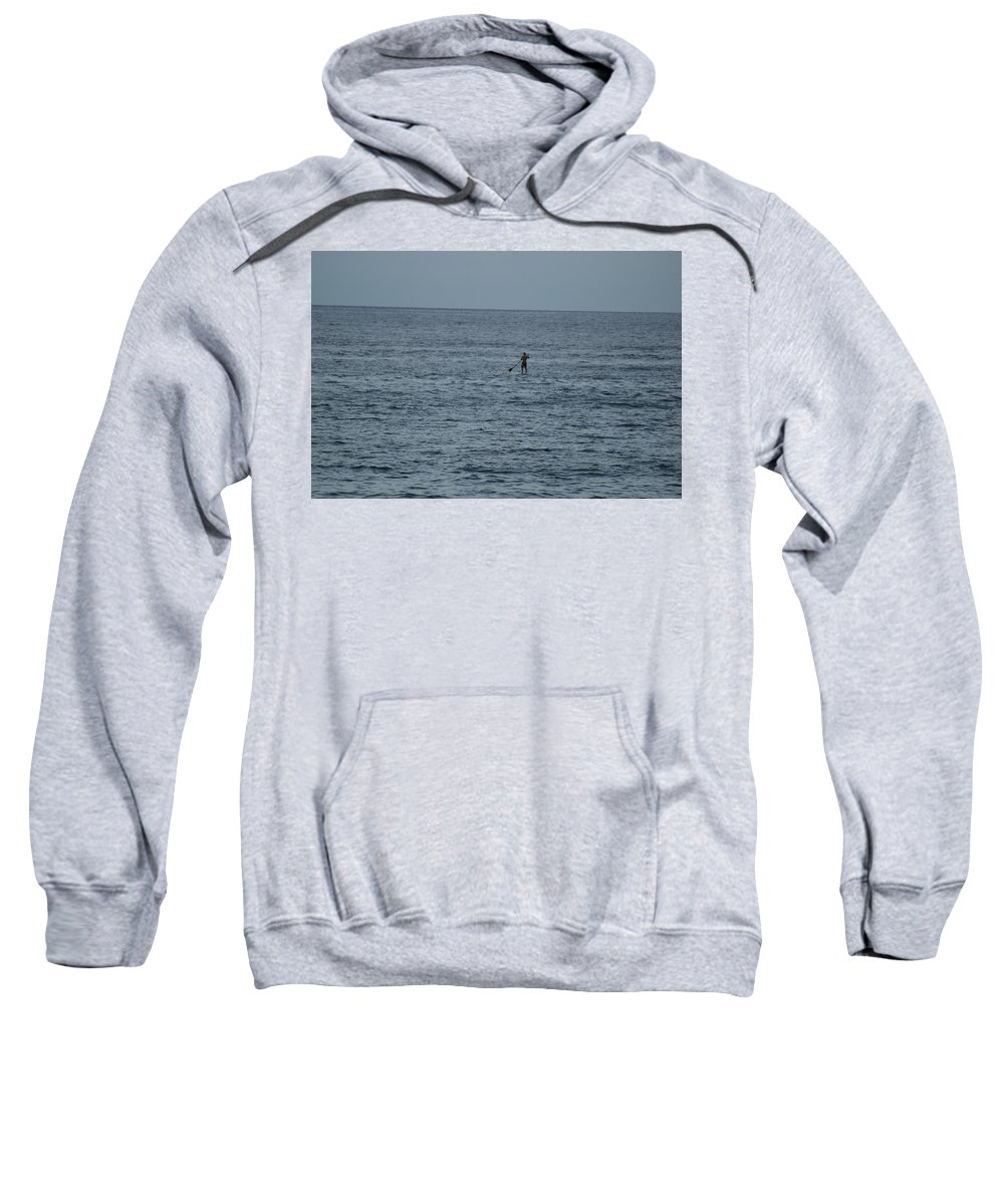 Sea Scape Sweatshirt featuring the photograph Old Man In The Sea by Rob Hans