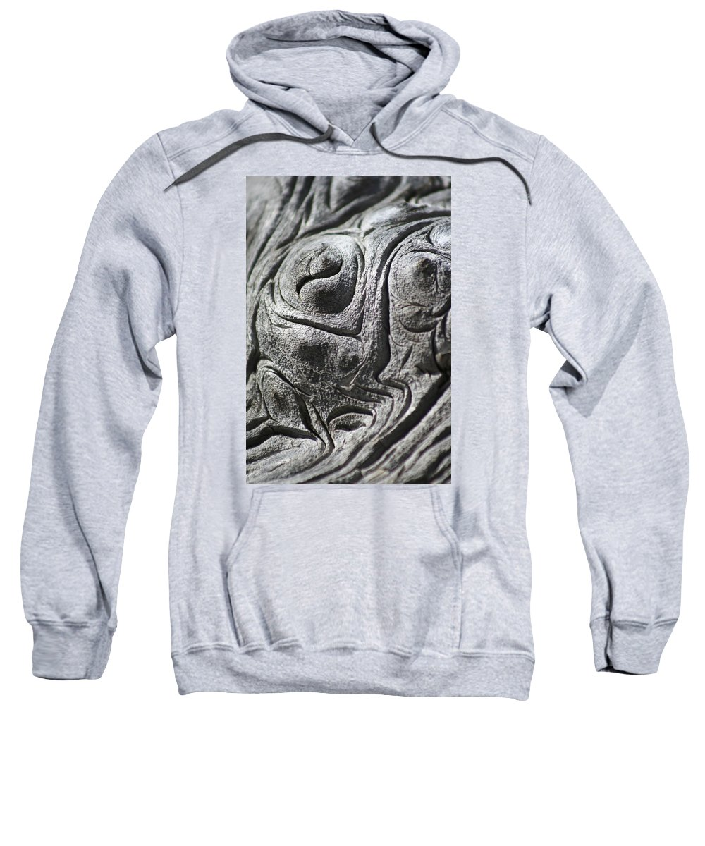 Wood Sweatshirt featuring the photograph Old Man In The Wood by Ric Bascobert