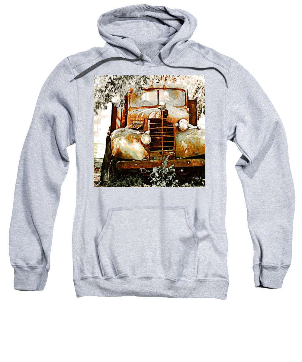 Transportation Sweatshirt featuring the photograph Old Memories Never Die by Holly Kempe