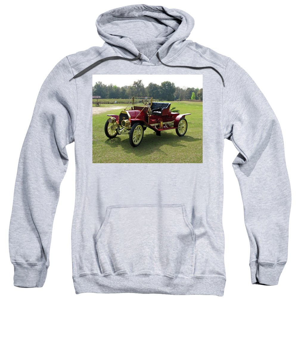 Antique Sweatshirt featuring the photograph Old Red by Peg Urban