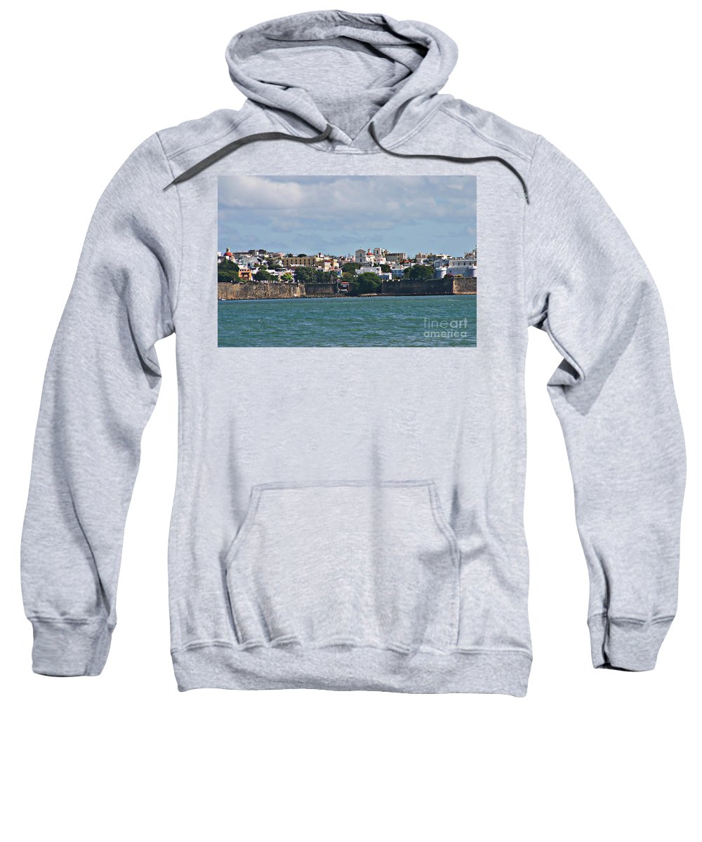 San Juan Sweatshirt featuring the photograph Old San Juan by Gilbert