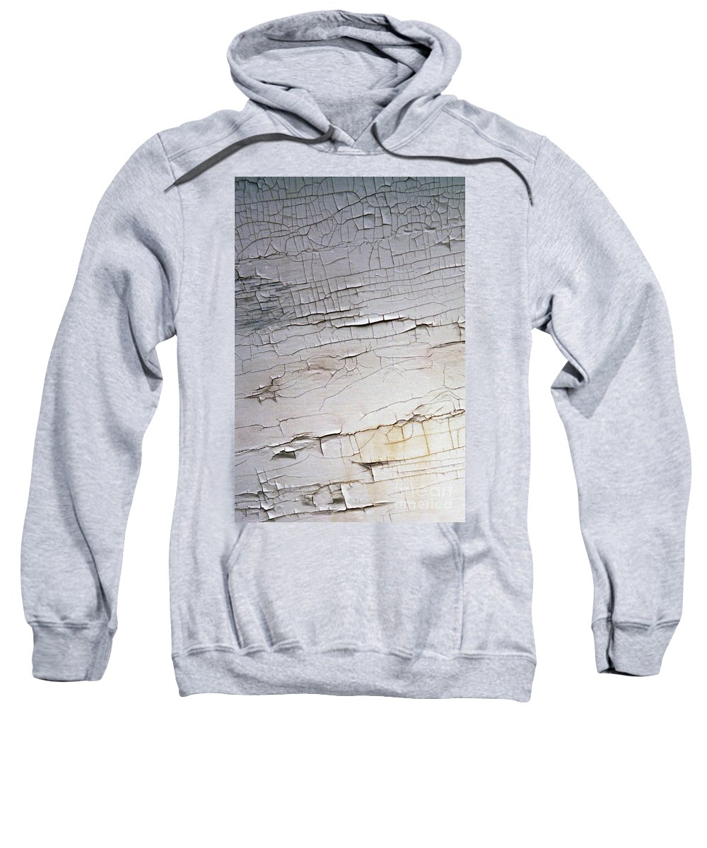 Paint Sweatshirt featuring the photograph Old Siding by Richard Rizzo