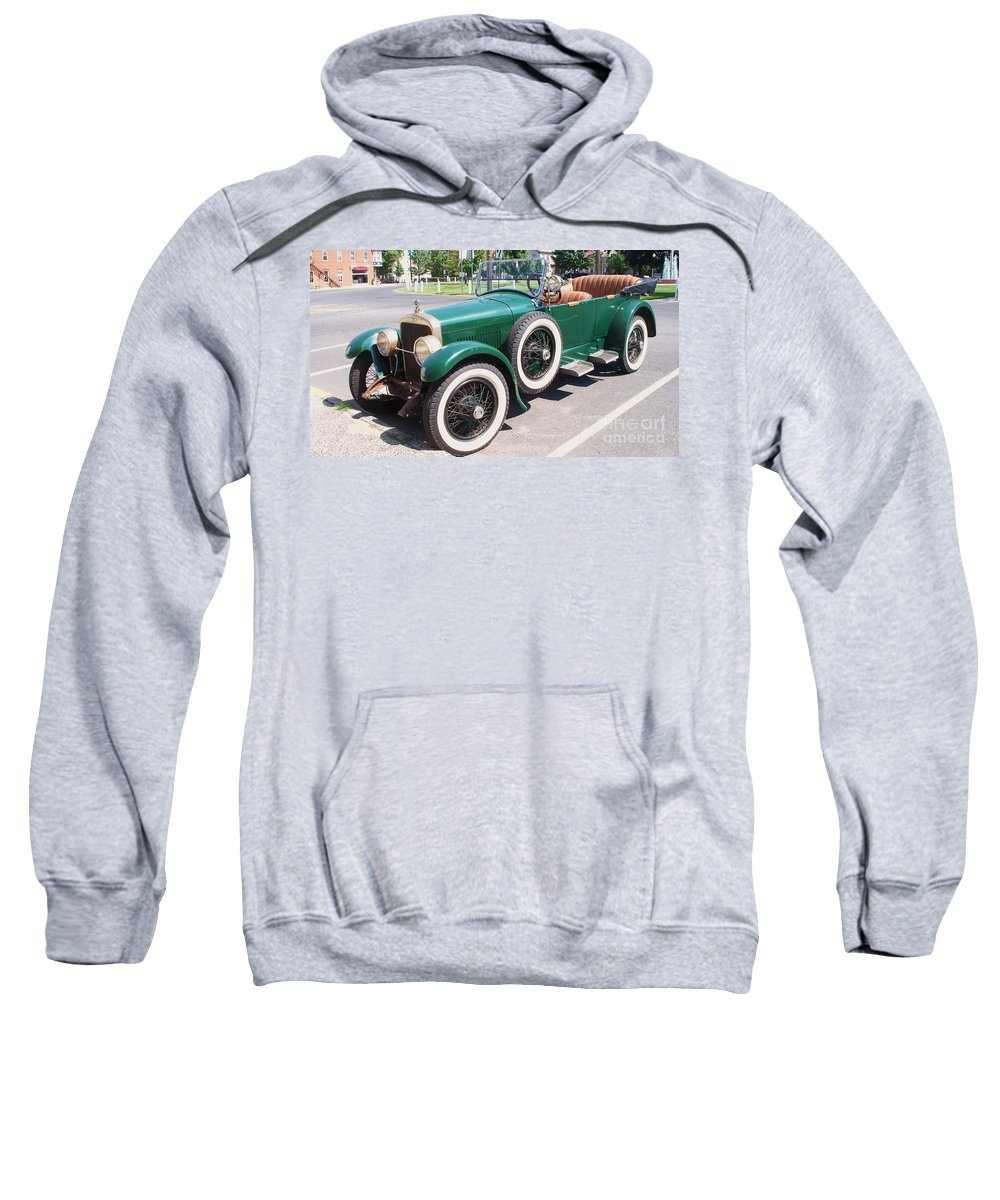 Transportation Sweatshirt featuring the photograph Old Vintage Car by Eric Schiabor
