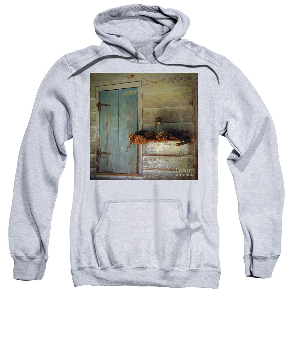 Scenic Tours Sweatshirt featuring the photograph Olde Thymes by Skip Willits
