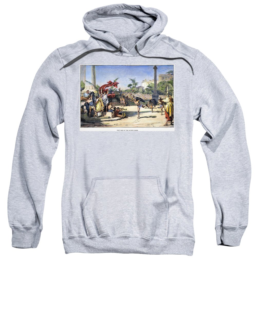 Ancient Sweatshirt featuring the photograph Olympic Games by Granger