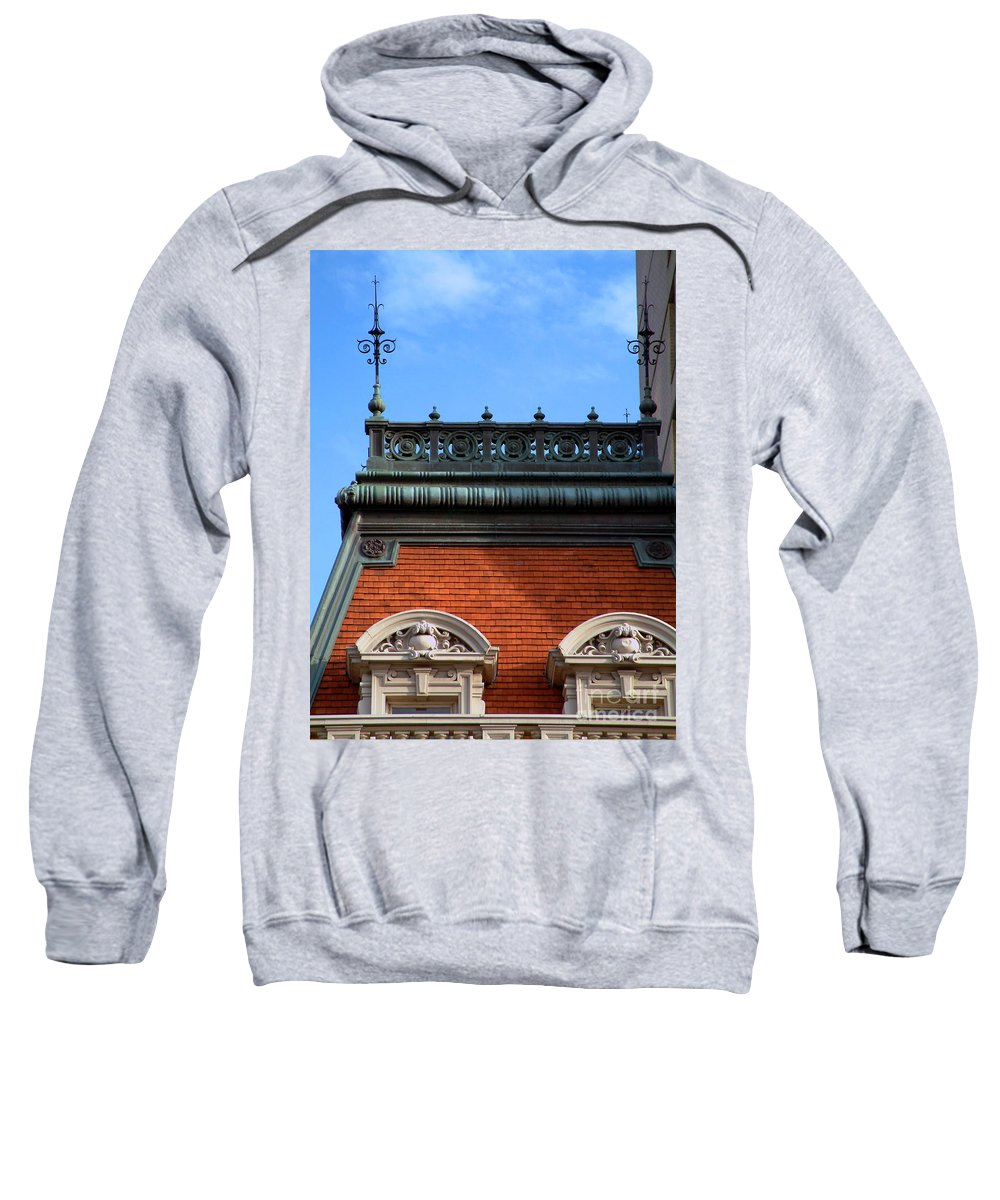 Apartment Sweatshirt featuring the photograph On A Clear Day by RC DeWinter