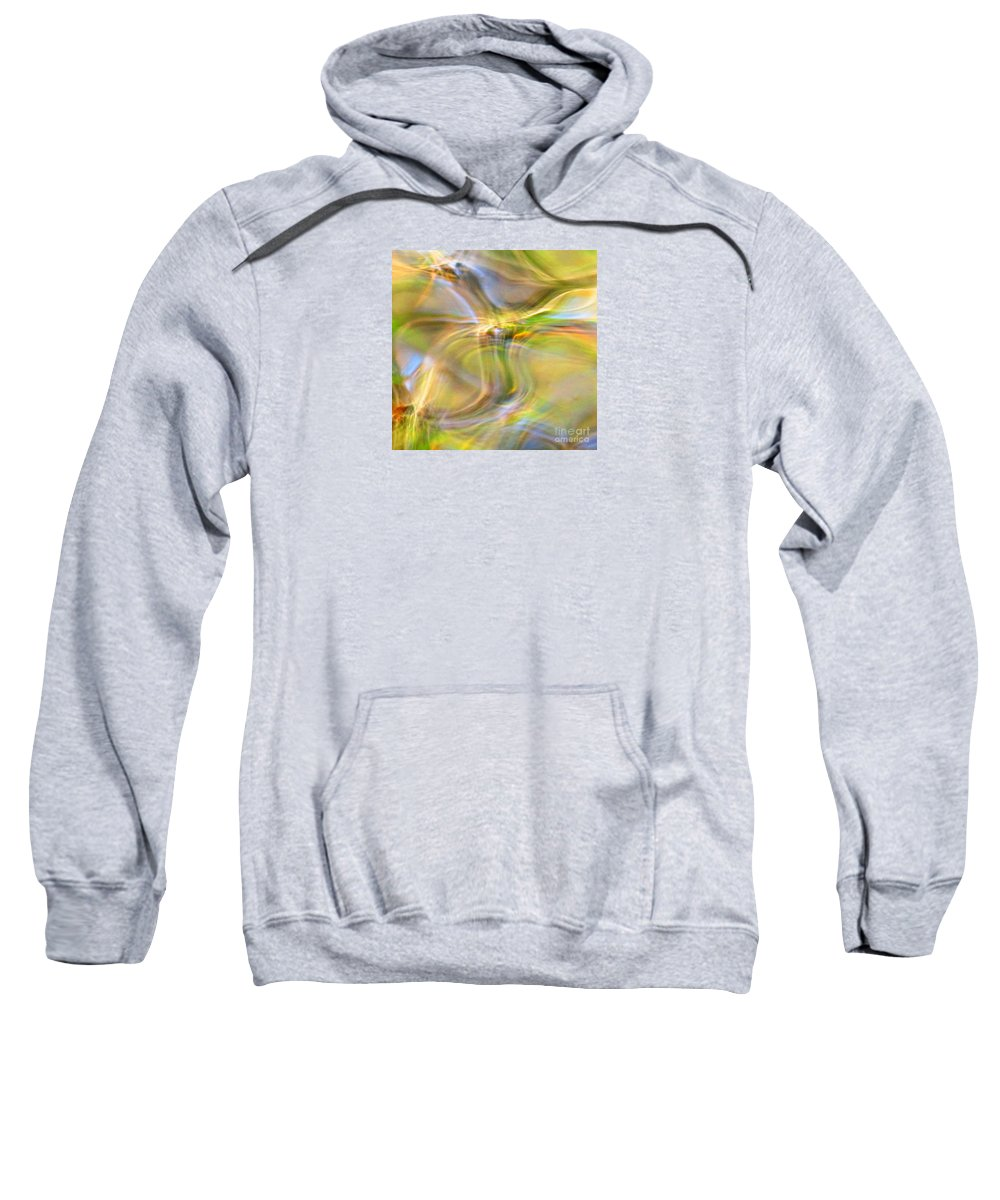 Abstract Sweatshirt featuring the photograph Free Spirit by Sybil Staples