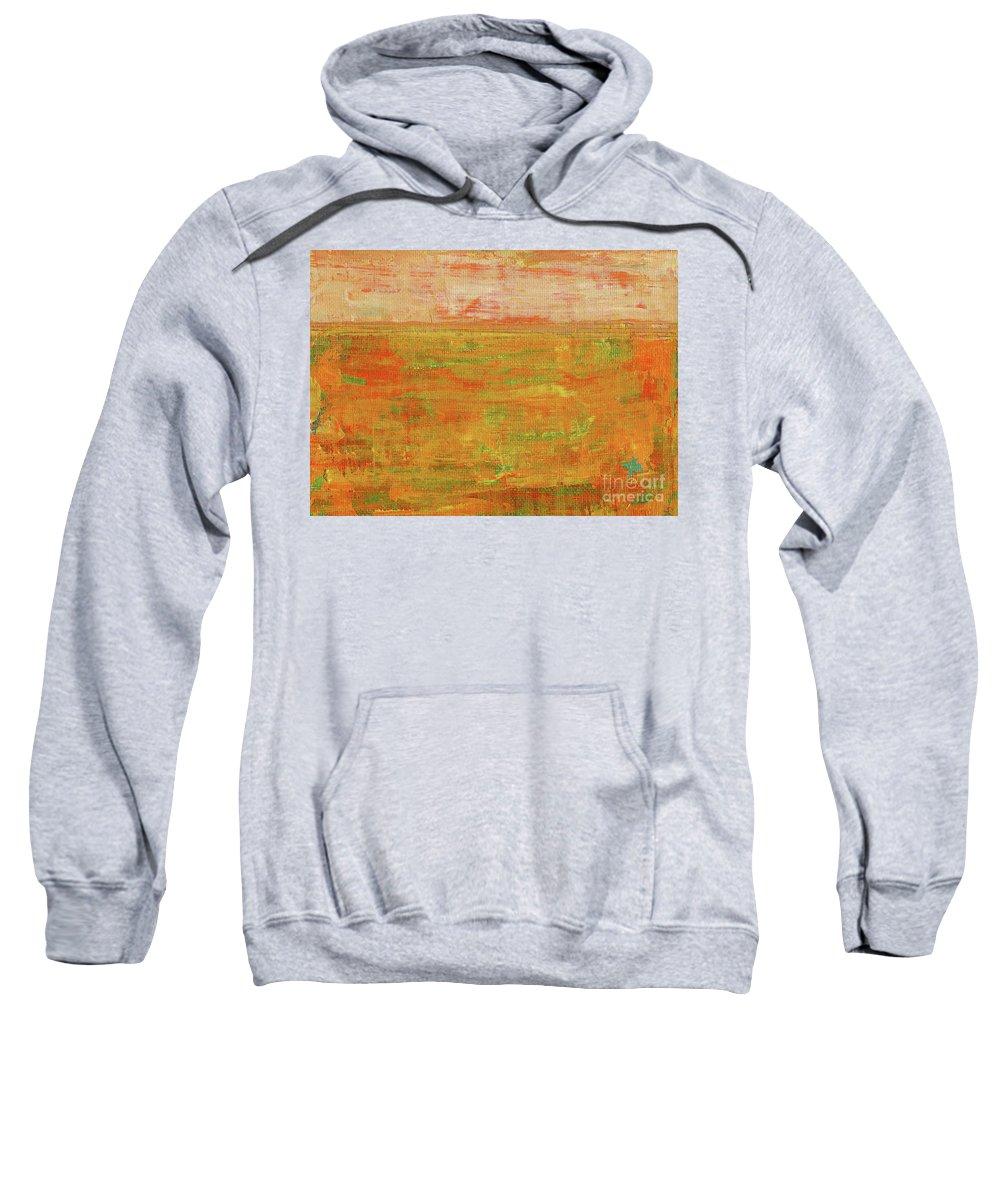 Danielle Tayabas Sweatshirt featuring the painting On The Horizon by Danielle Tayabas