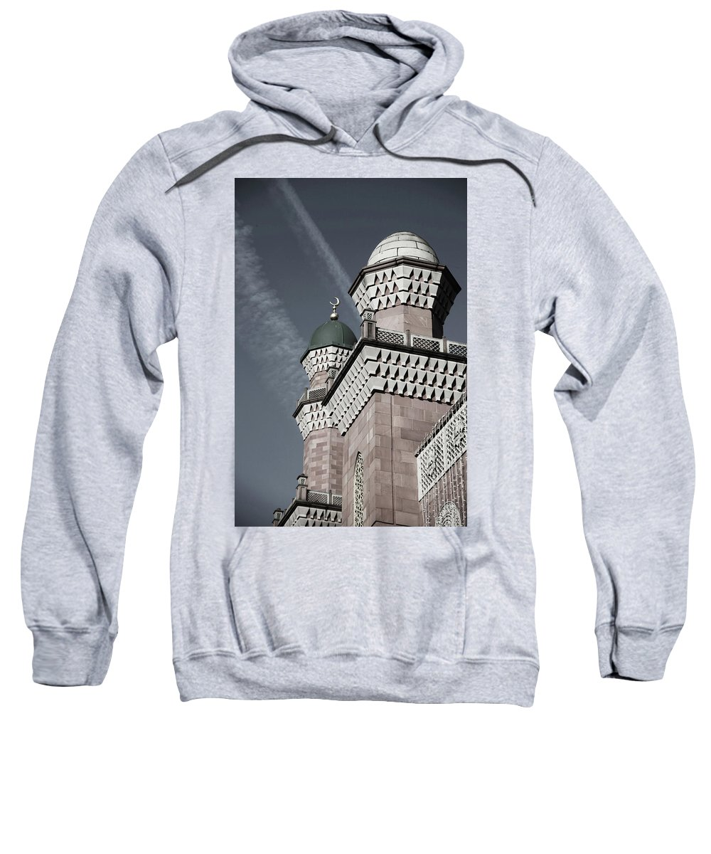 Bradford Sweatshirt featuring the photograph On This Earth by Jez C Self