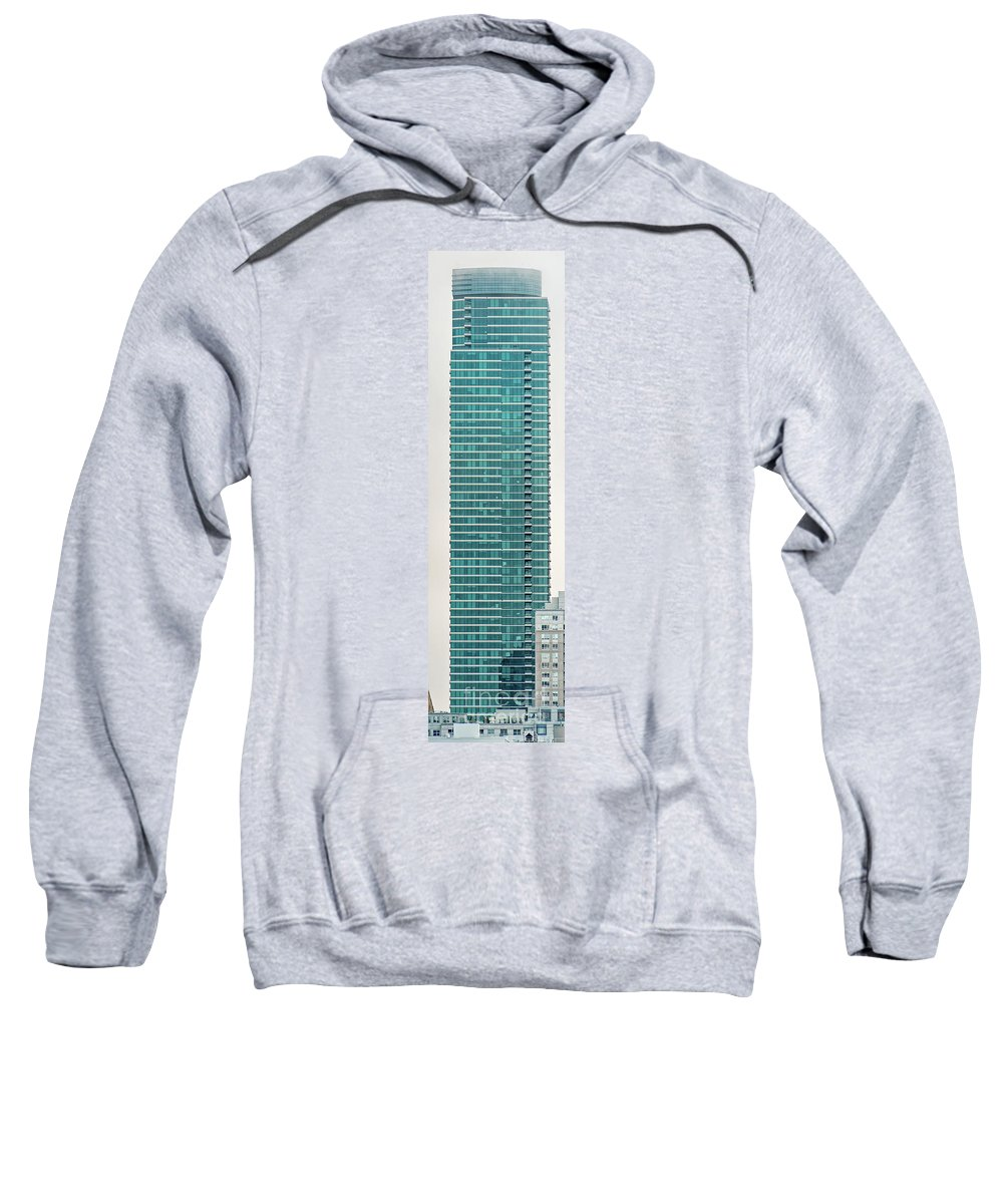 One Rincon Hill Sweatshirt featuring the photograph One Rincon Hill Building In San Francisco, California by David Oppenheimer