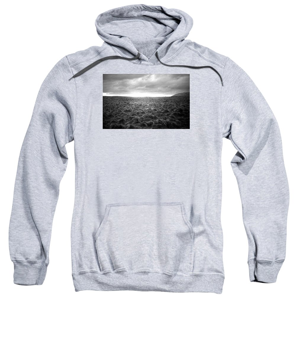 Landscape Sweatshirt featuring the photograph Opening by Ted M Tubbs
