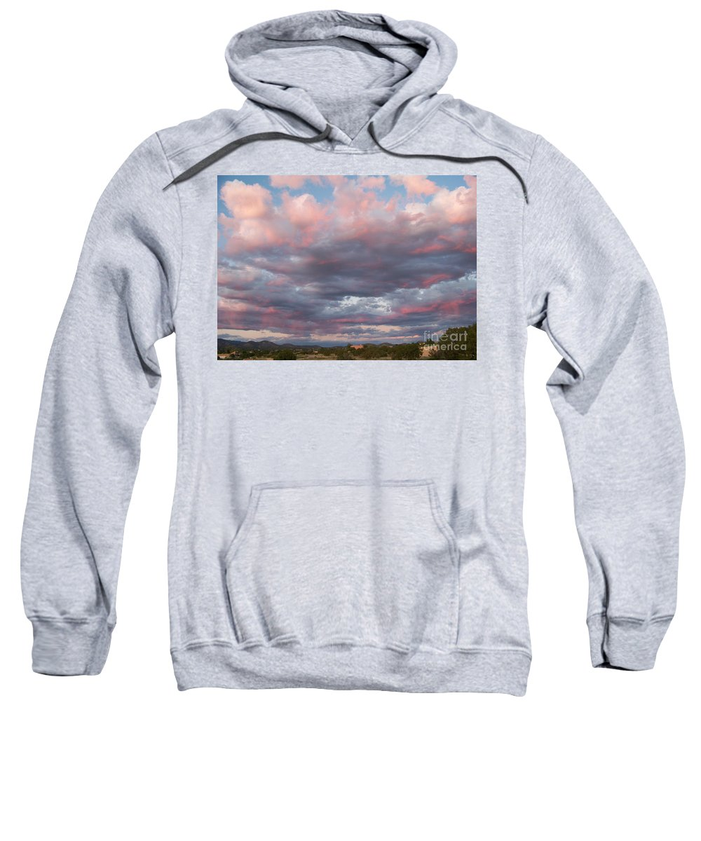 Sunset Sweatshirt featuring the photograph Opposite The Setting Sun by Brian Commerford