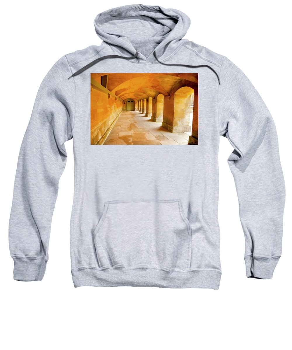 Blenheim Palace Sweatshirt featuring the photograph Gold by Greg Fortier
