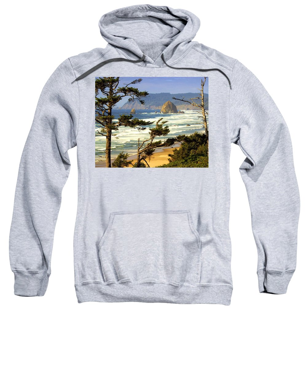 Ocean Sweatshirt featuring the photograph Oregon Coast 15 by Marty Koch