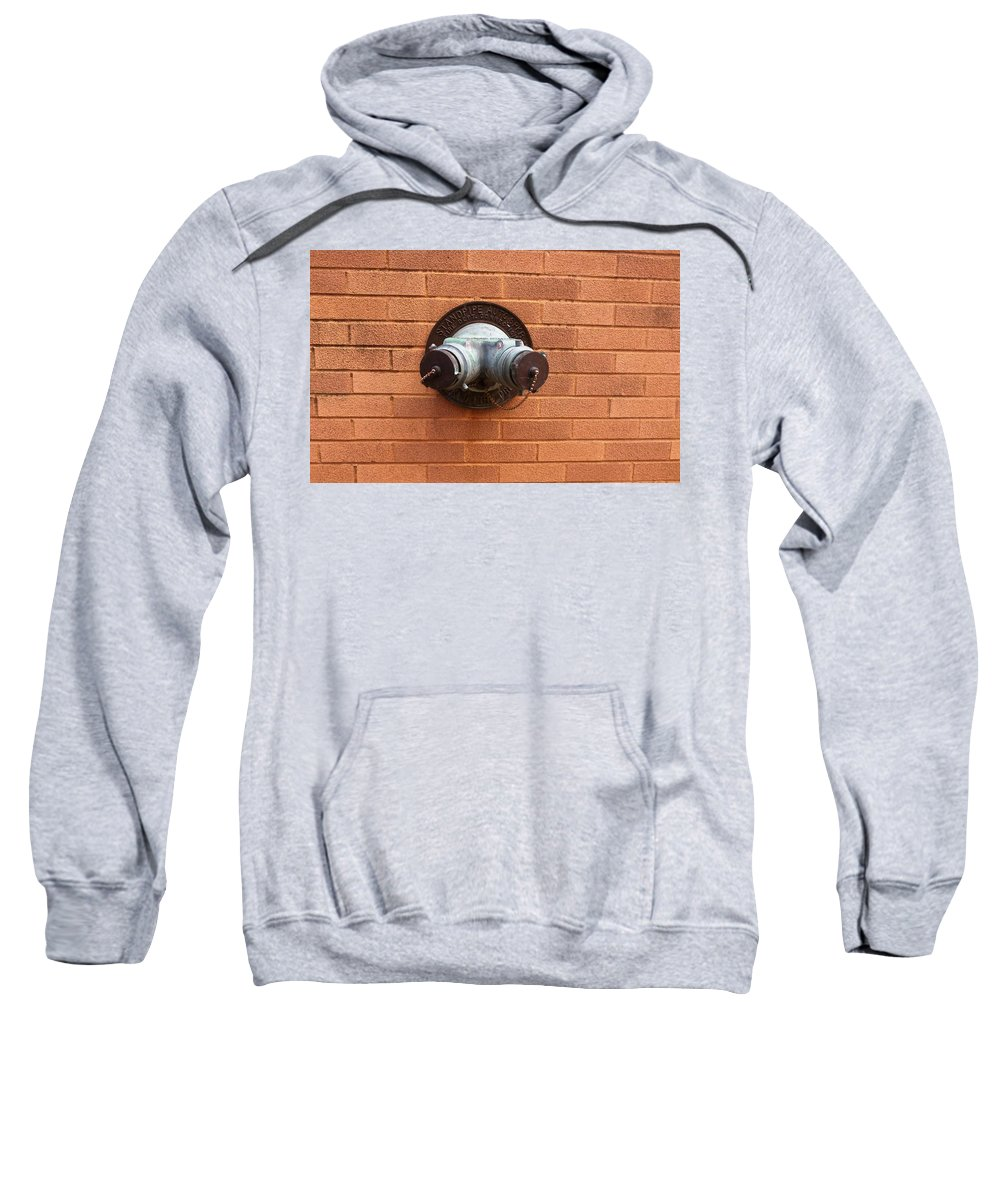 Photograph Sweatshirt featuring the photograph Original Female Pipe by Thomas Valentine