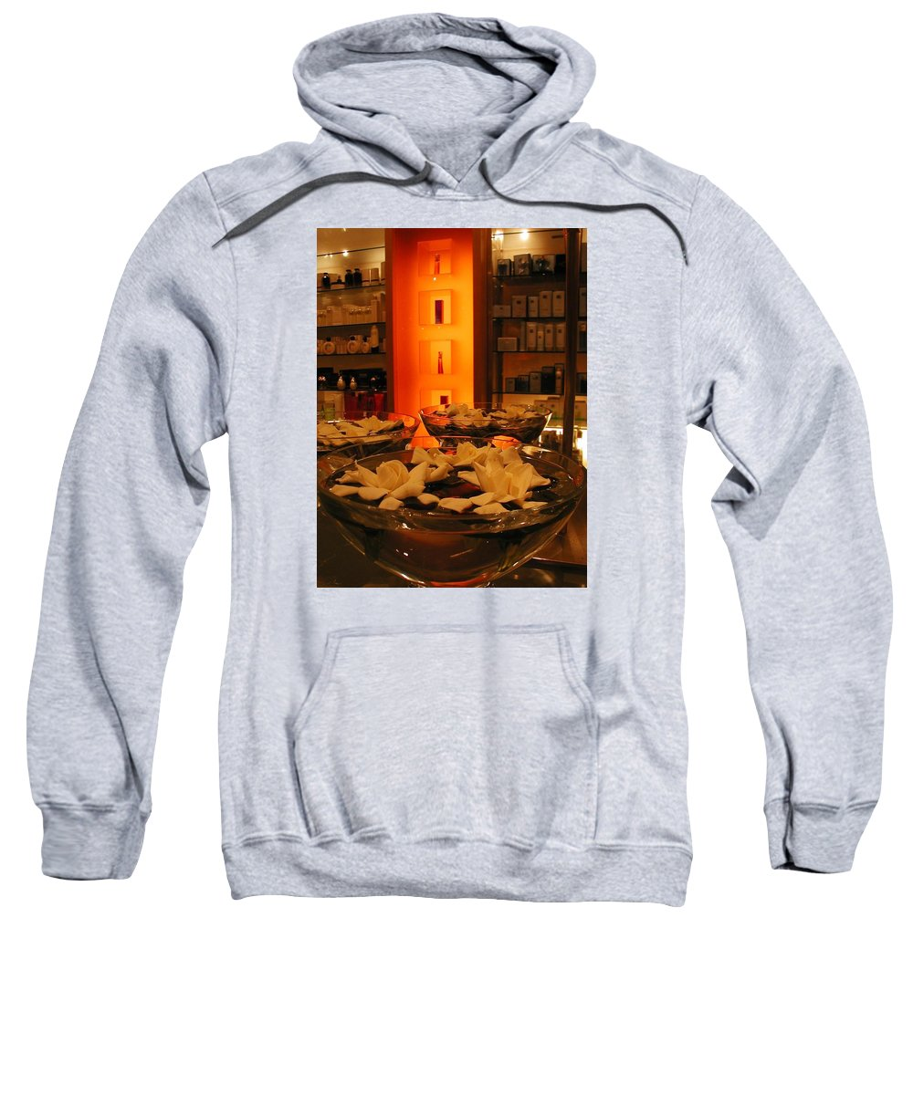 Shopping Sweatshirt featuring the photograph Out Shopping by Betsy Mullenix