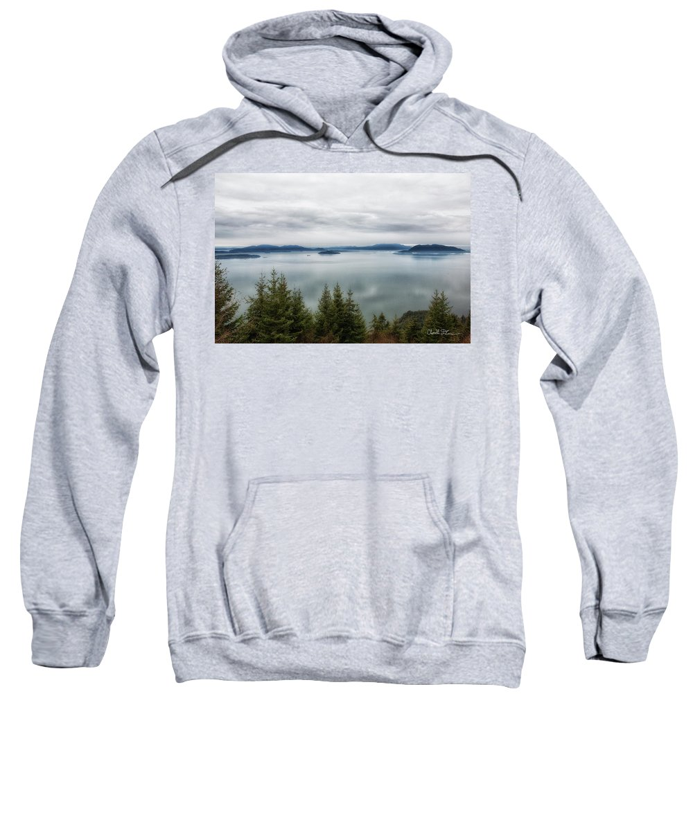 Water Sweatshirt featuring the photograph Overlook by Charlie Duncan