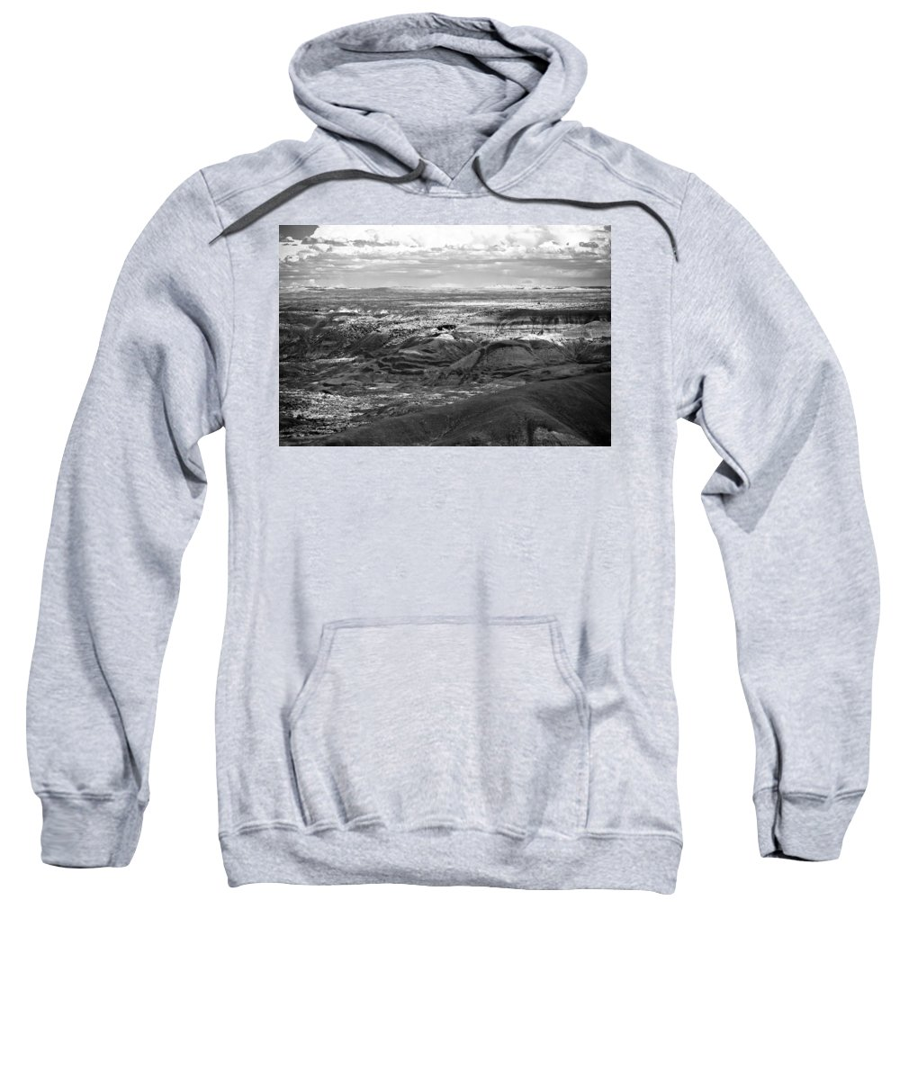 Painted Sweatshirt featuring the photograph Painted Desert #2 by Robert J Caputo