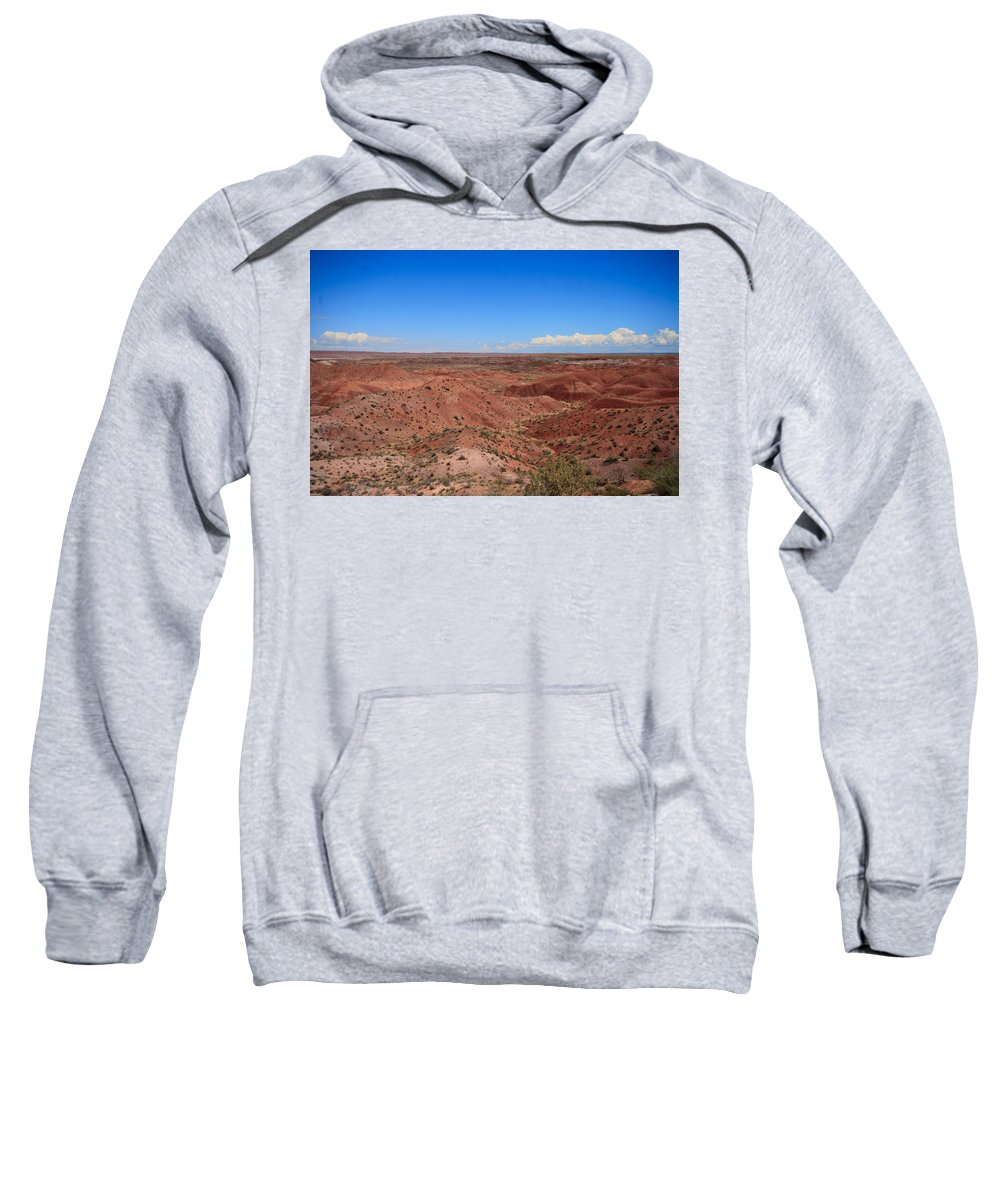 Painted Sweatshirt featuring the photograph Painted Desert #6 by Robert J Caputo