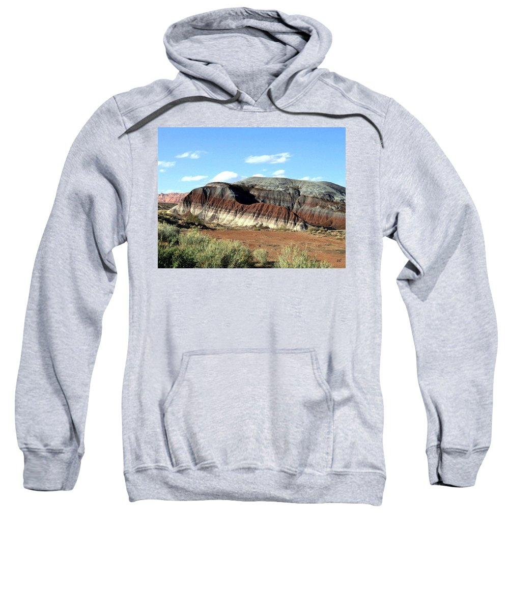 Arizona Sweatshirt featuring the photograph Painted Desert by Will Borden