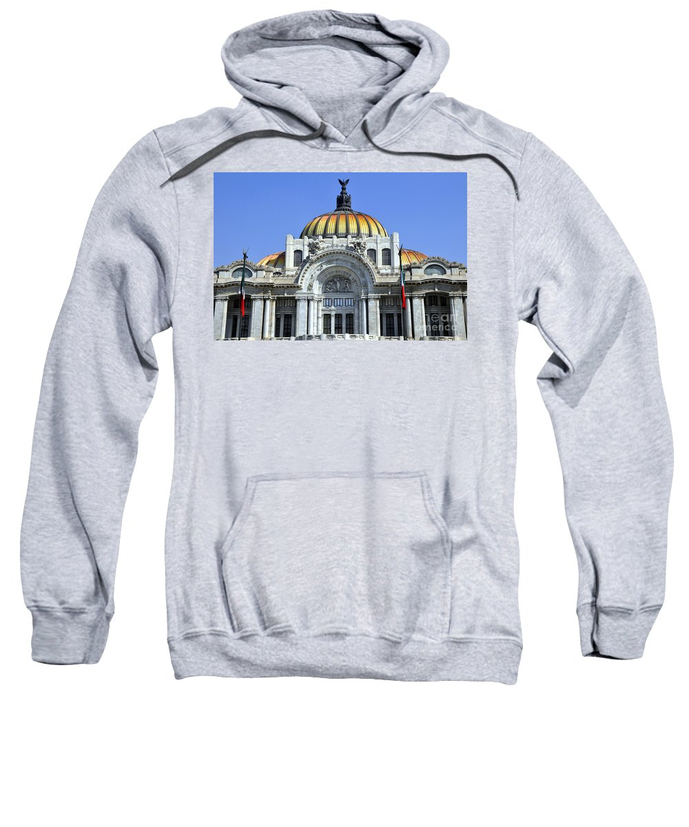 Palace Of Fine Arts Sweatshirt featuring the photograph Palace Of Fine Arts by Andrew Dinh