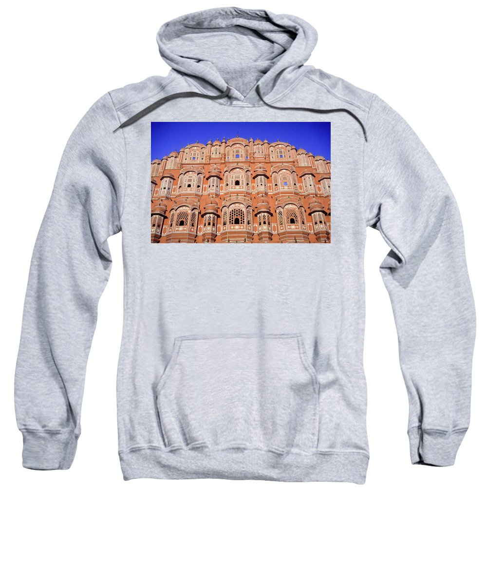 India Sweatshirt featuring the photograph Palace Of The Wind by Michele Burgess