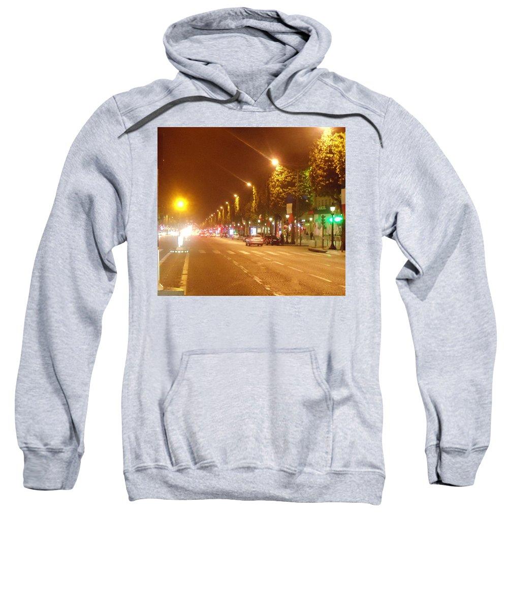 Calm Sweatshirt featuring the photograph Paris Unedited by Donald Harrison