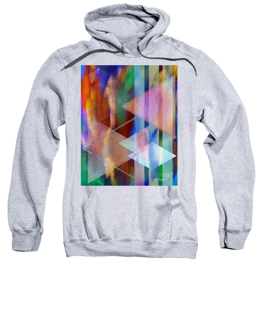 Pastoral Midnight Sweatshirt featuring the digital art Pastoral Midnight by John Beck