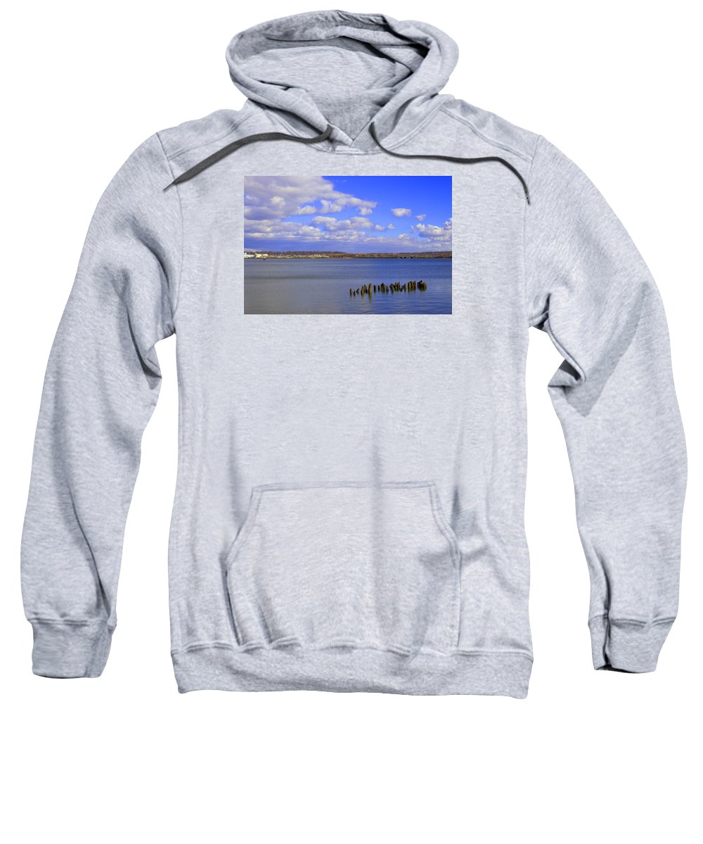 Old Town Alexandria Sweatshirt featuring the photograph Patowmeck by Iryna Goodall