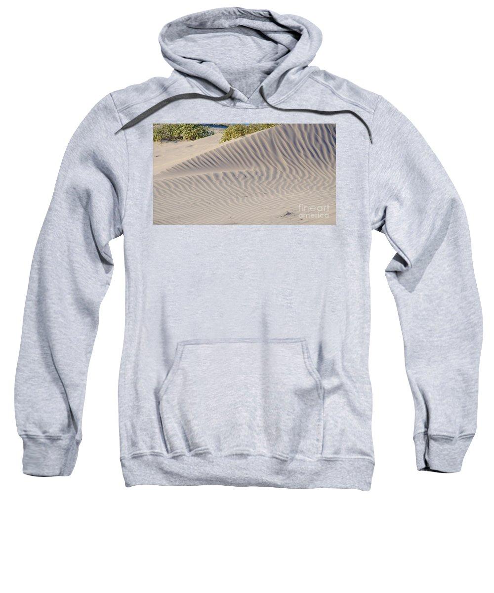 Beach Sweatshirt featuring the photograph Patterns In The Sand by Debra Martz