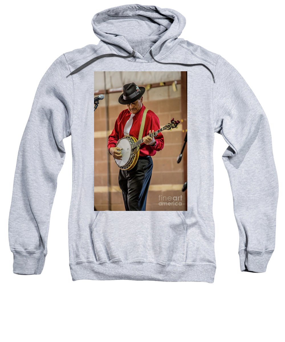 Paul Fincham Sweatshirt featuring the photograph Paul Fincham Dark Hollow 5958v by Doug Berry