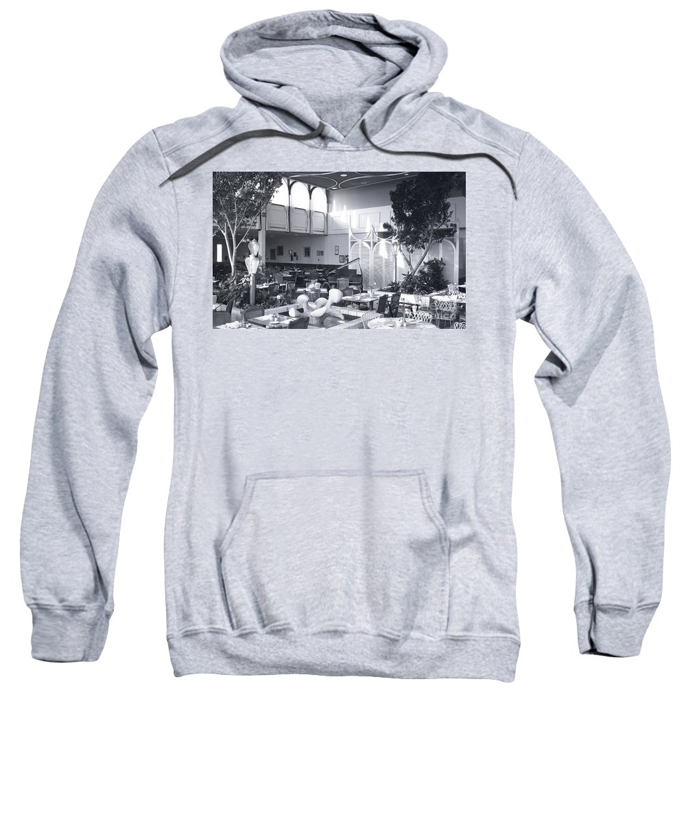 Stix Sweatshirt featuring the photograph Pavilion Restaurant At Stix, Baer And Fuller by Dwayne Pounds