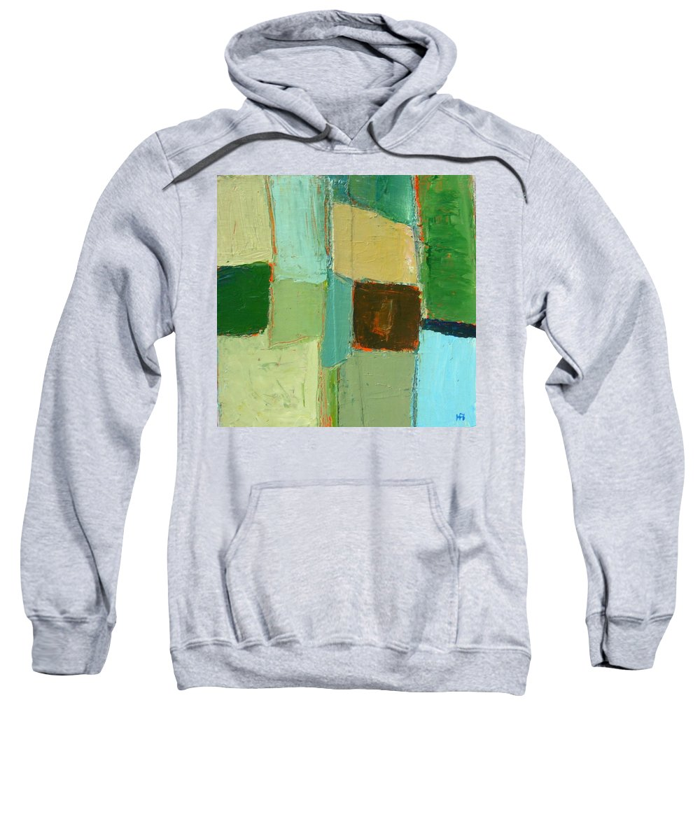 Sweatshirt featuring the painting Peace 2 by Habib Ayat