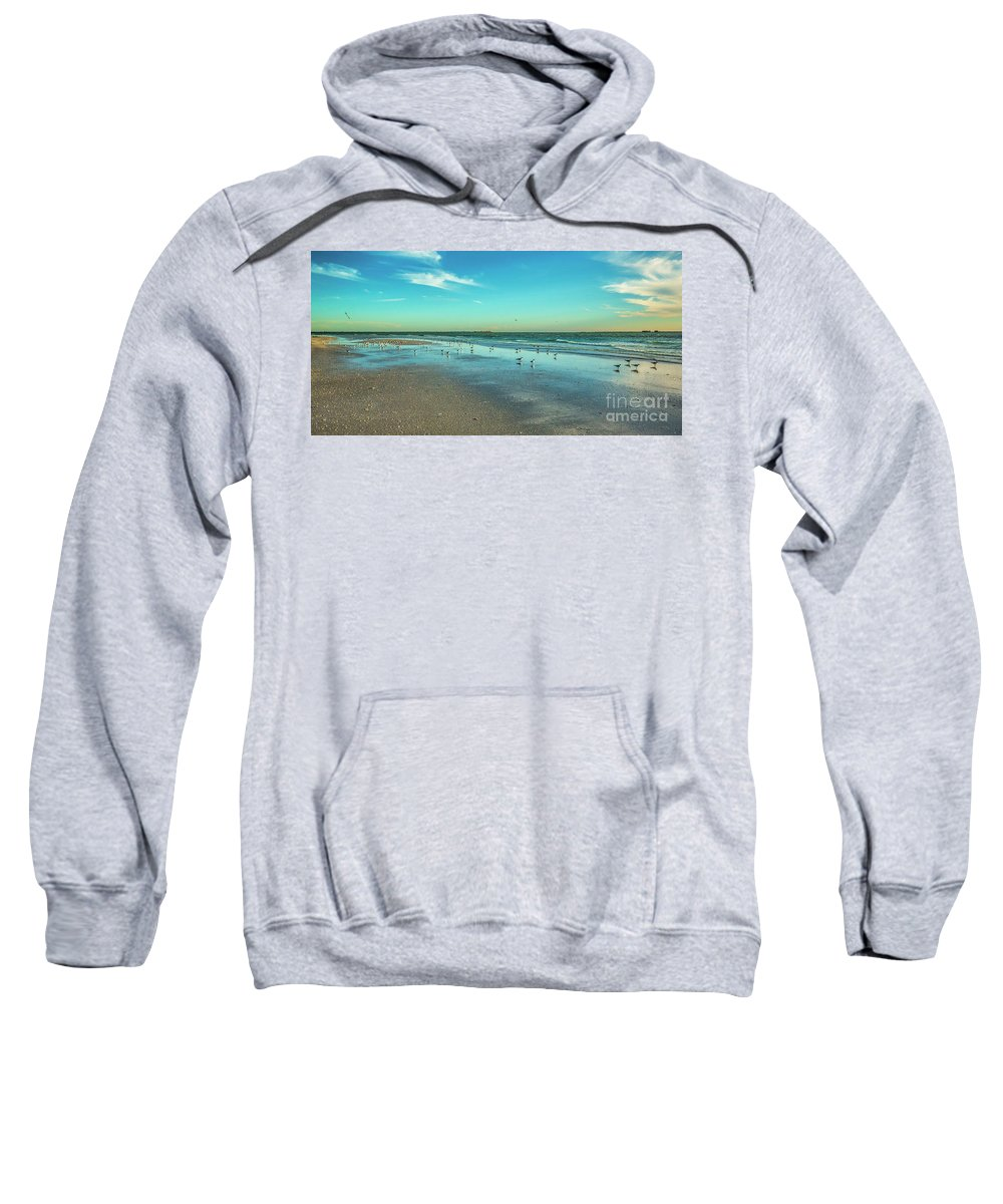 Peaceful Rest Sweatshirt featuring the photograph Peaceful Rest by Felix Lai