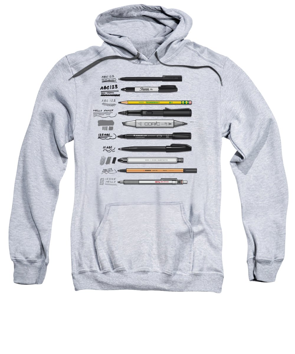 Mechanical Hooded Sweatshirts T-Shirts