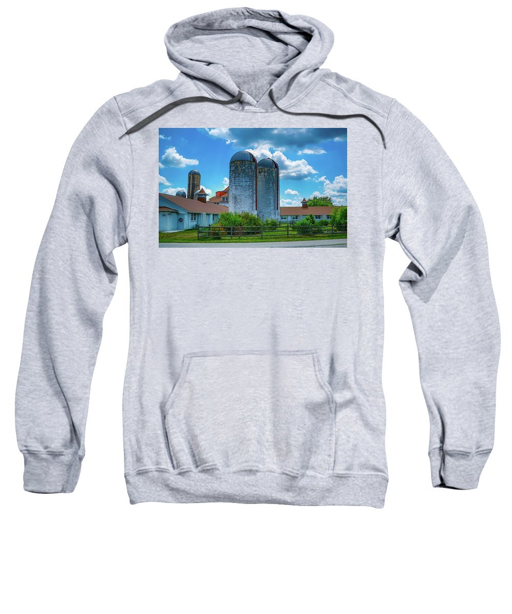 Rural Sweatshirt featuring the photograph Pennsylvania Farm by Howard Roberts