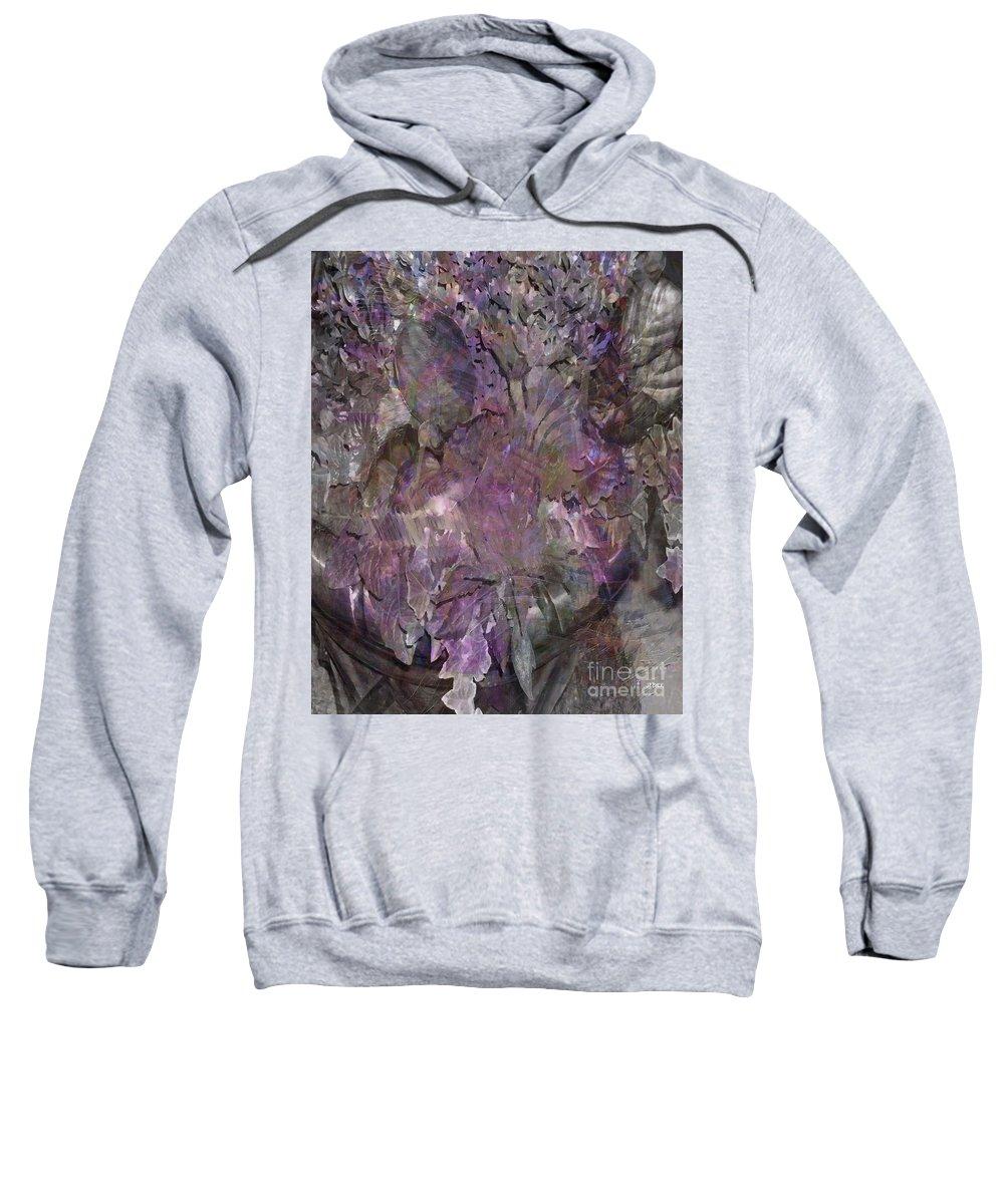 Petal To The Metal Sweatshirt featuring the digital art Petal To The Metal by John Beck