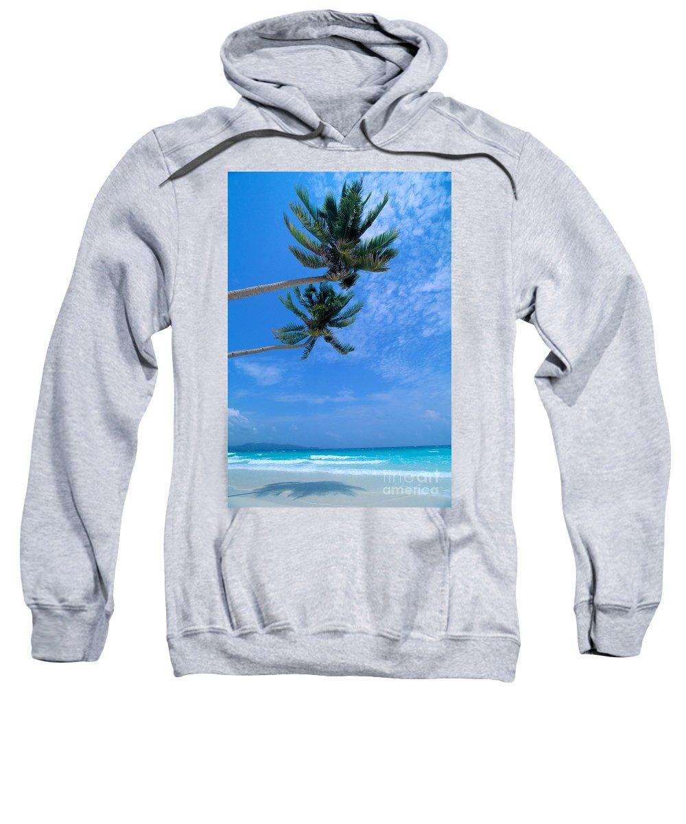 Aqua Sweatshirt featuring the photograph Philippines, Boracay Isla by William Waterfall - Printscapes