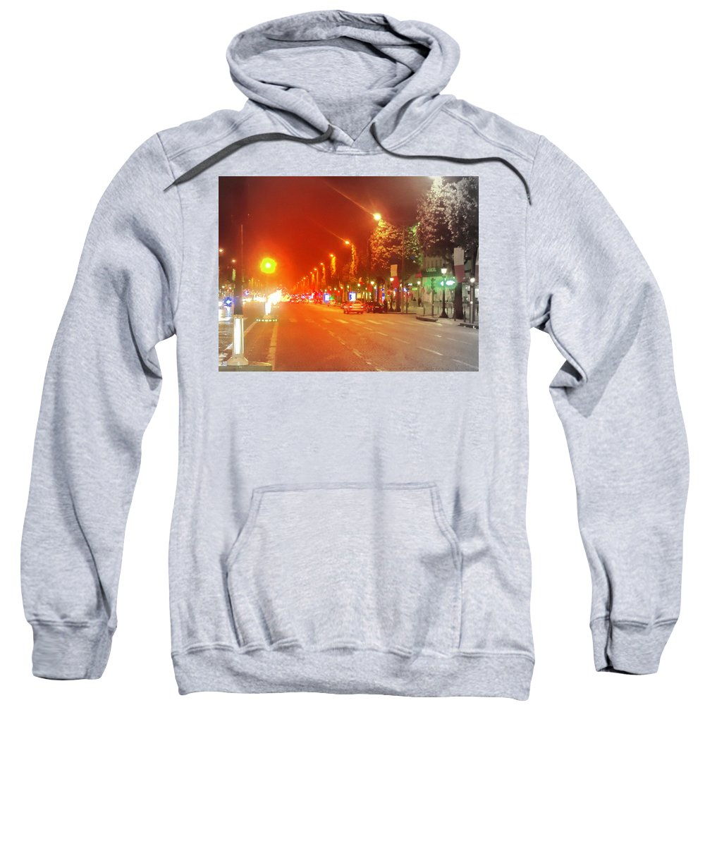 Paris Filtered Sweatshirt featuring the photograph Photo by Donald Harrison