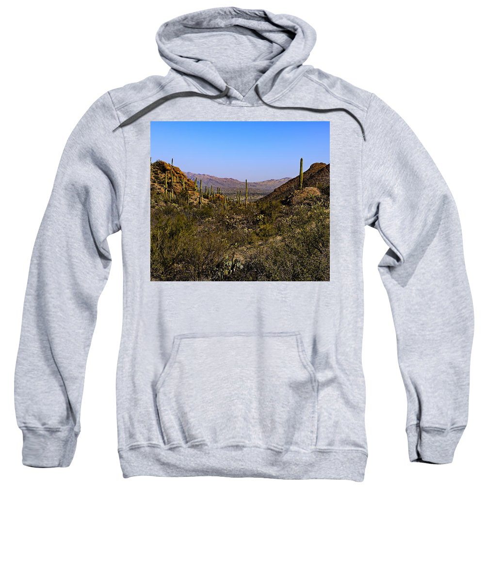 Duvet Cover Sweatshirt featuring the photograph Picture Rocks 24 by Mark Myhaver
