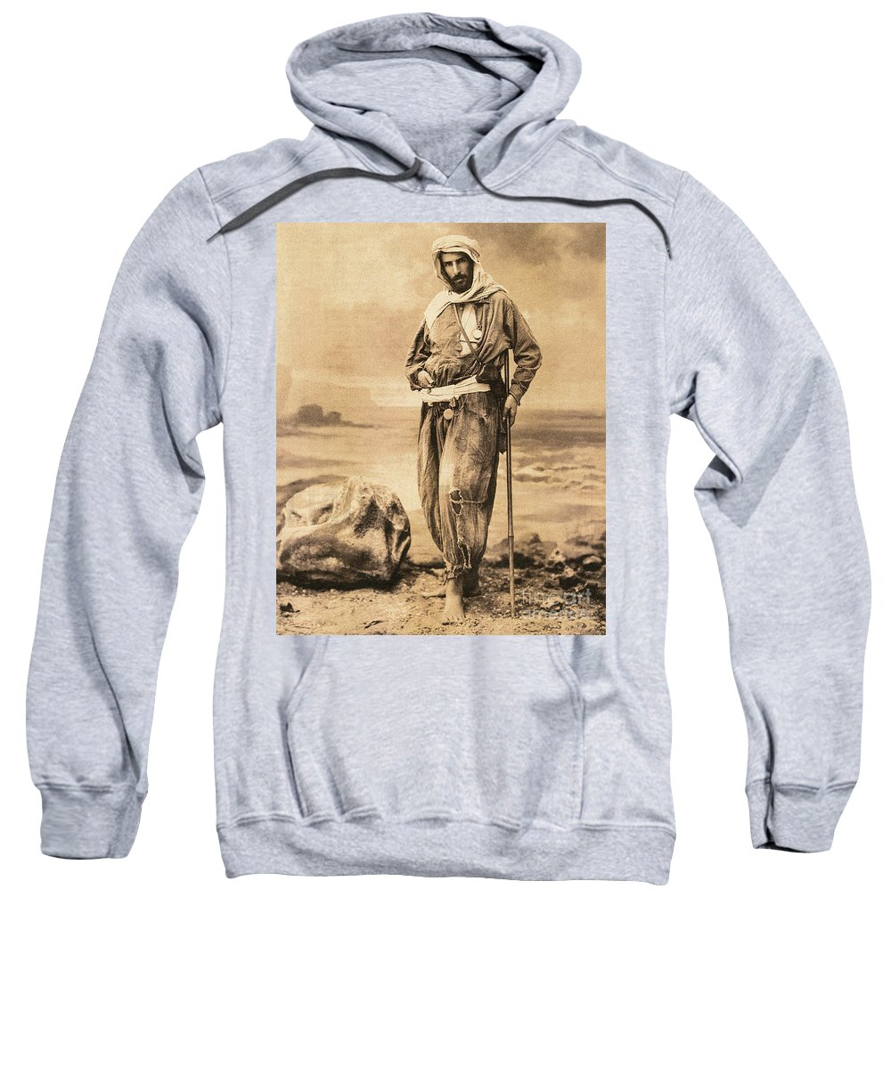 19th Century Sweatshirt featuring the painting Pierre Savorgnan De Brazza by Granger