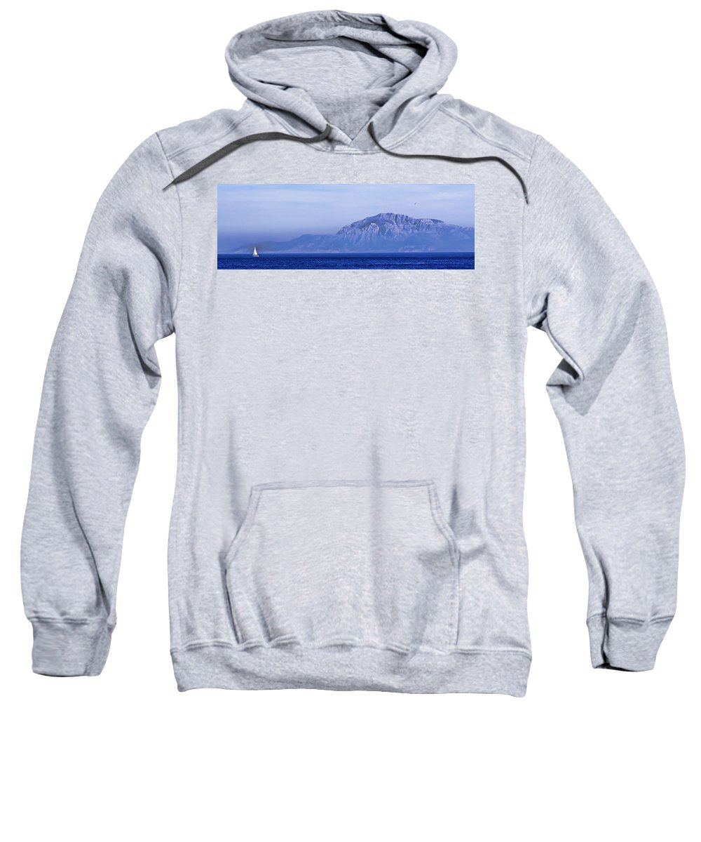 Atlas Mountains Sweatshirt featuring the photograph Pilars Of Hercules by Donovan Torres