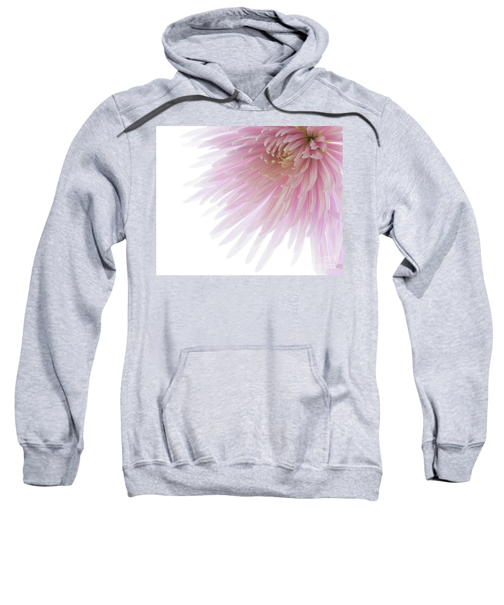 Pink Sweatshirt featuring the photograph Pink Bloom by Kelly Merlini