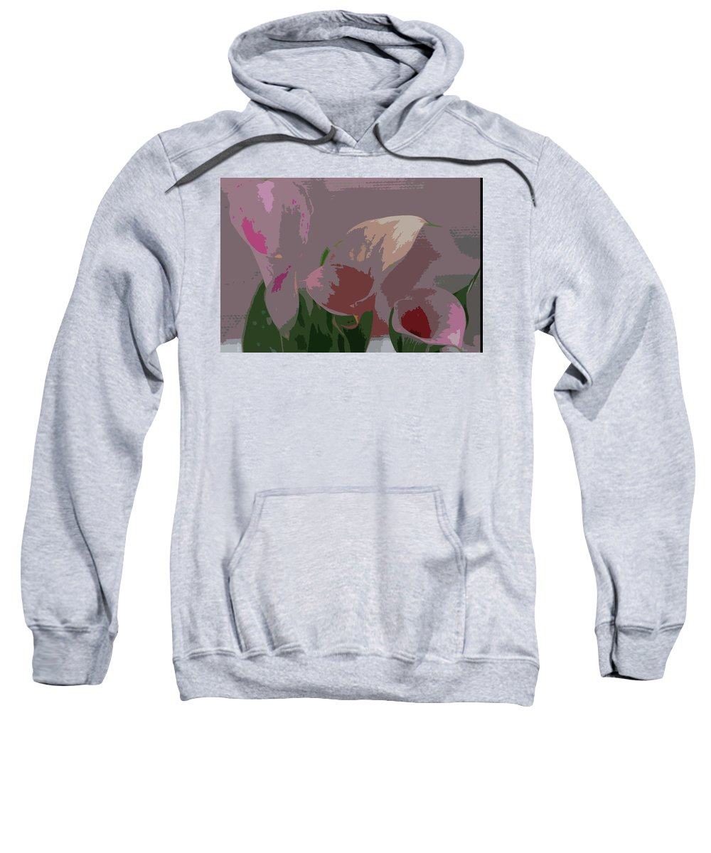 Earth\'s Flowers Sweatshirt featuring the photograph Players by Carol Eliassen