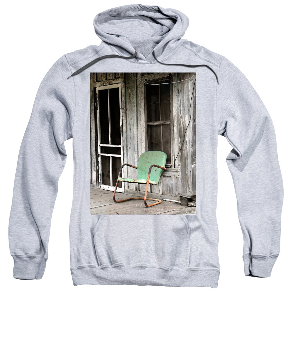 Americana Sweatshirt featuring the photograph Plenty Of Time by Marilyn Hunt